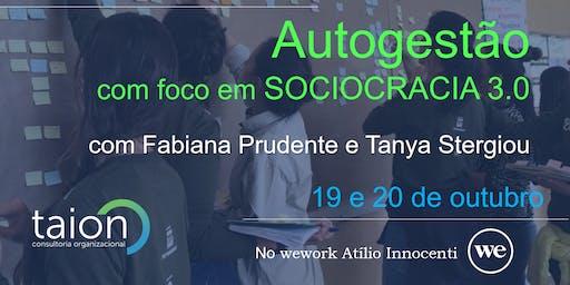 Workshop Autogestão com foco em Sociocracia 3.0 - SP