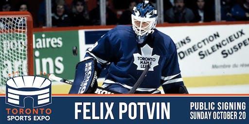 Felix Potvin Signing at the Toronto Sports Expo
