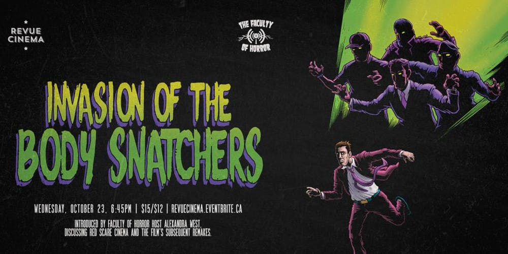 Be Afraid: INVASION OF THE BODY SNATCHERS (1956) p/b by The