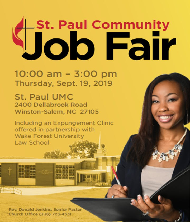 St Paul Community Job Fair & Expungement Clinic Tickets, Thu