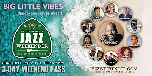 Sandy Shore's Jazz Weekender :  3-Day Passes & Individual Concert Tickets