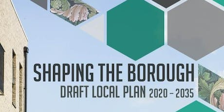 Leyton Connecting Conversation on Draft Local Plan 230919 tickets