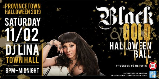 Black & Gold Halloween Ball