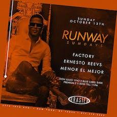 Runway Sundays @Brasier.nyc ~ DJs Factory + Ernesto Reevs + Menor el Mejor tickets