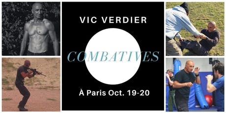 Stage combatives 2 jours avec Vic Verdier à Paris tickets