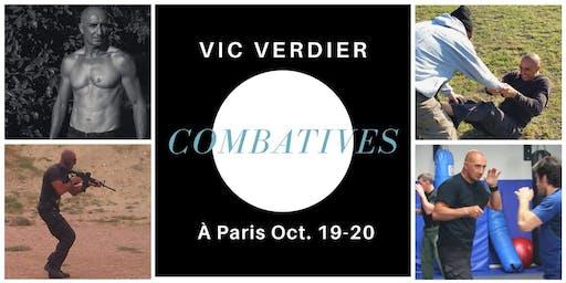 Stage combatives 2 jours avec Vic Verdier à Paris
