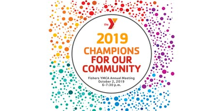 Fishers Y Annual Meeting 2019 Champions For Our Community tickets