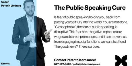 The Public Speaking Cure - October Dose  tickets