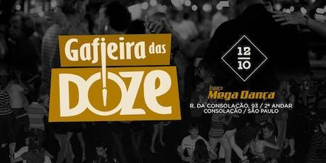 Gafieria das Doze - 12/10/2019 ingressos