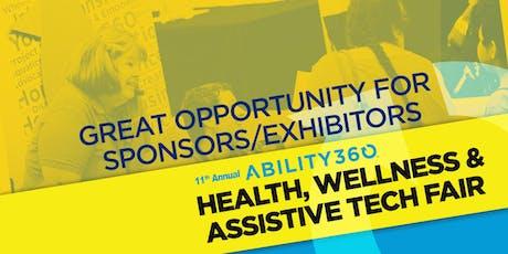 11th Annual Ability360 Health, Wellness & Assistive Tech Fair  tickets
