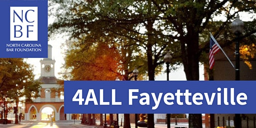 4ALL Statewide Service Day 2020 - Fayetteville