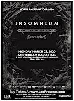 Insomnium - North American Tour 2020