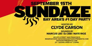 Sundaze Day Party w/Clyde Carson