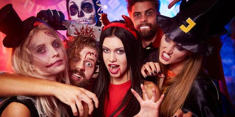 HALLOWEEN COSTUME PARTY AMBIENTE LATINO SATURDAY NIGHT | LA TERRAZA Times Square Views & Vibes  tickets