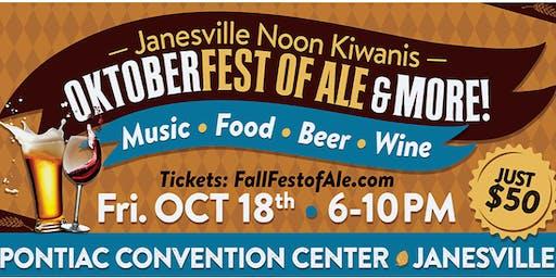 OktoberFest-of-Ale   Music-Food-Beer-Wine   by Janesville Kiwanis