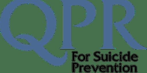QPR SUICIDE PREVENTION TRAINING SLAUGHTNEIL, EMMETS GAC