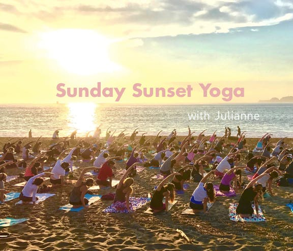 Festival of Lights  Sunset Yoga with Julianne