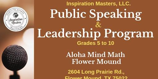 Public Speaking and Leadership Program in Flower Mound TX