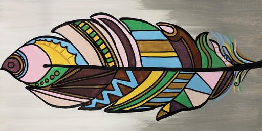 Paint Night @ Ironhand Winery-Fall Feathers