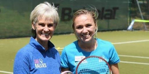 She Rallies - Learn to teach  Tennis to Teenage Girls