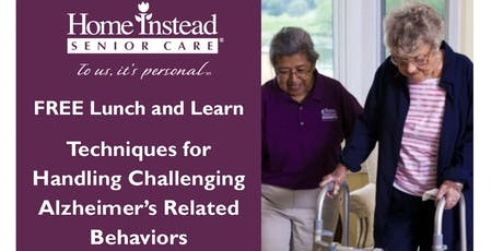 Techniques for Handling Challenging Alzheimer's Related Behaviors tickets