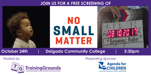 No Small Matter Movie Screening and Panel Discussion