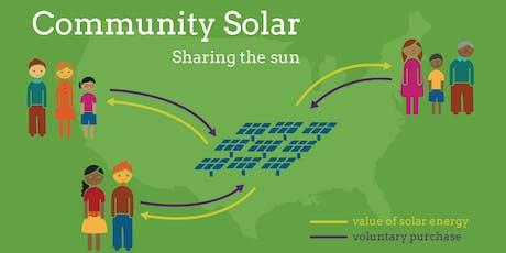 Community Solar Update! tickets