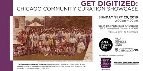 Get Digitized: Chicago Community Curation Showcase (with NMAAHC and SSHMP) tickets