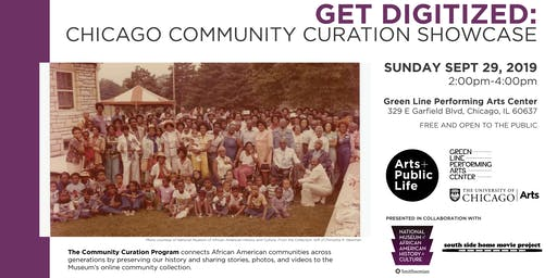 Get Digitized: Chicago Community Curation Showcase (with NMAAHC and SSHMP)