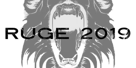 RUGE 2019 Conference tickets
