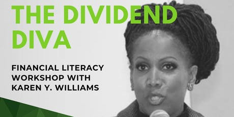 Financial Literacy Workshop with The Dividend Diva - Free Event tickets