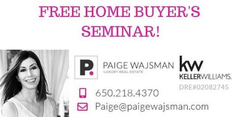 FREE Home Buyer's Seminar with Paige Wajsman! tickets
