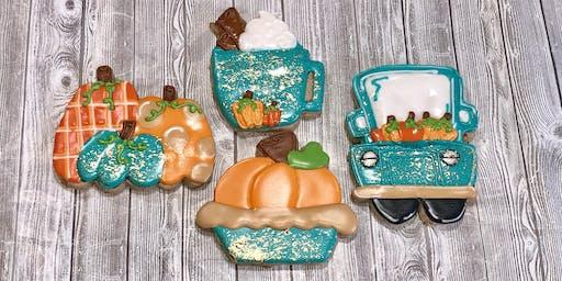 Pumpkin Spice Cookie Decorating Class!
