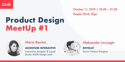 Product Design Meetup #1 (Riga)