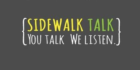Sidewalk Talk Training tickets