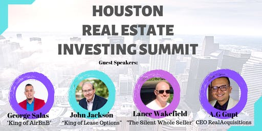 Houston Real Estate Investing Summit! - October 2019