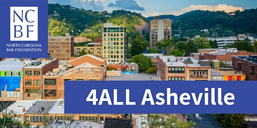 4ALL Statewide Service Day 2020 - Asheville
