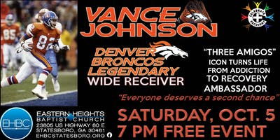 Vance Johnson - Legendary Denver Broncos Wide Receiver