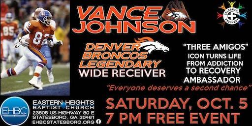 Vance Johnson - Legendary Denver Broncos Wide Receiver