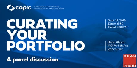 Curating Your Portfolio: A Panel Discussion tickets