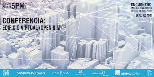 Conferencia: EDIFICIO VIRTUAL (OPEN BIM)