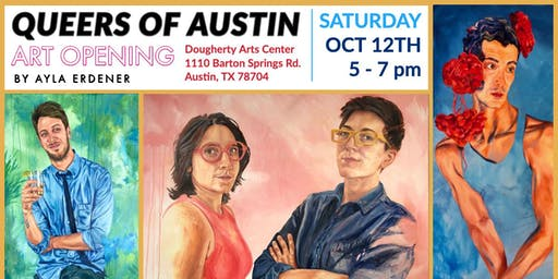 Q & A: QUEERS OF AUSTIN: OPENING RECEPTION