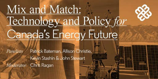 Mix and Match: Technology and Policy for Canada's Energy Future