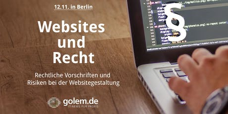 Websites und Recht tickets