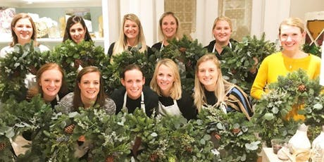 Create your Chalet Chic Wreath at Irving Street Kitchen with Alice's Table tickets