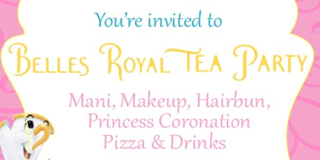 Princess Belle's Royal Tea Party tickets