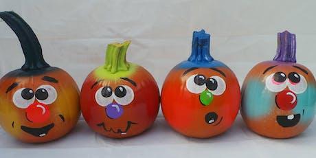 Pumpkin Patch Art (Family Workshop) tickets