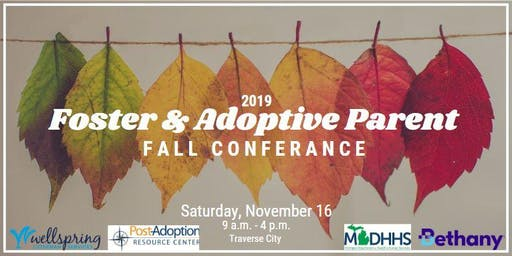 Foster and Adoptive Parent 2019 Fall Conference