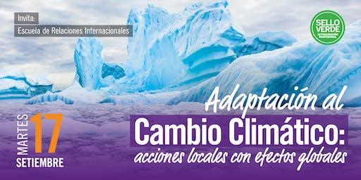 SELLO VERDE: Adaptación al Cambio Climático