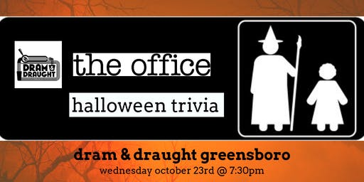 The Office *HALLOWEEN EPISODES* Trivia at Dram & Draught Greensboro